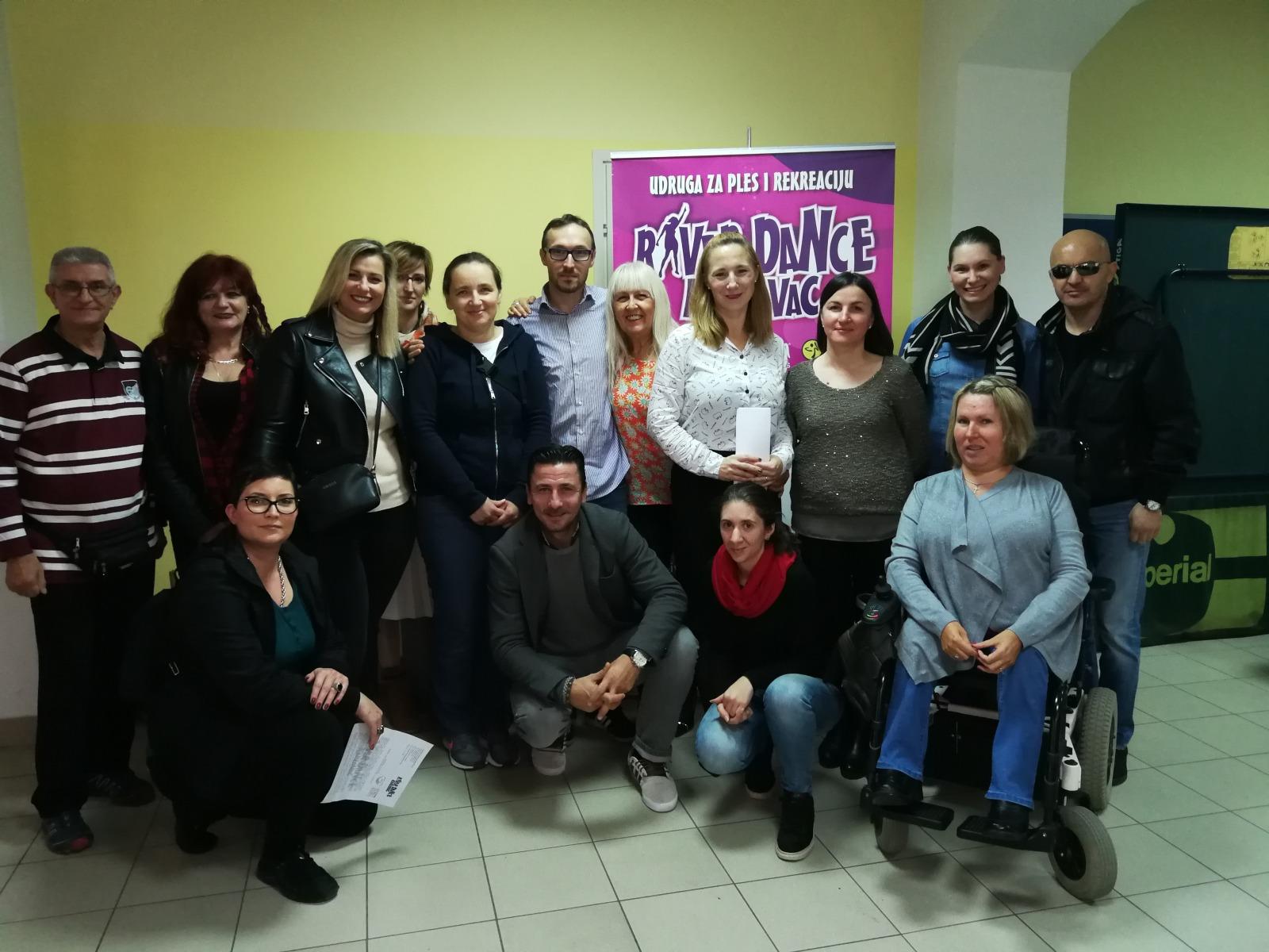 Predstavljen projekt Salsa Indepen-dance, Udruge za ples i rekreaciju River Dance Karlovac